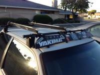 FS: Yakima roof rack with 2 bike mounts and key - Honda ...