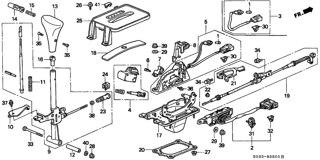 1997 honda accord shift solenoid