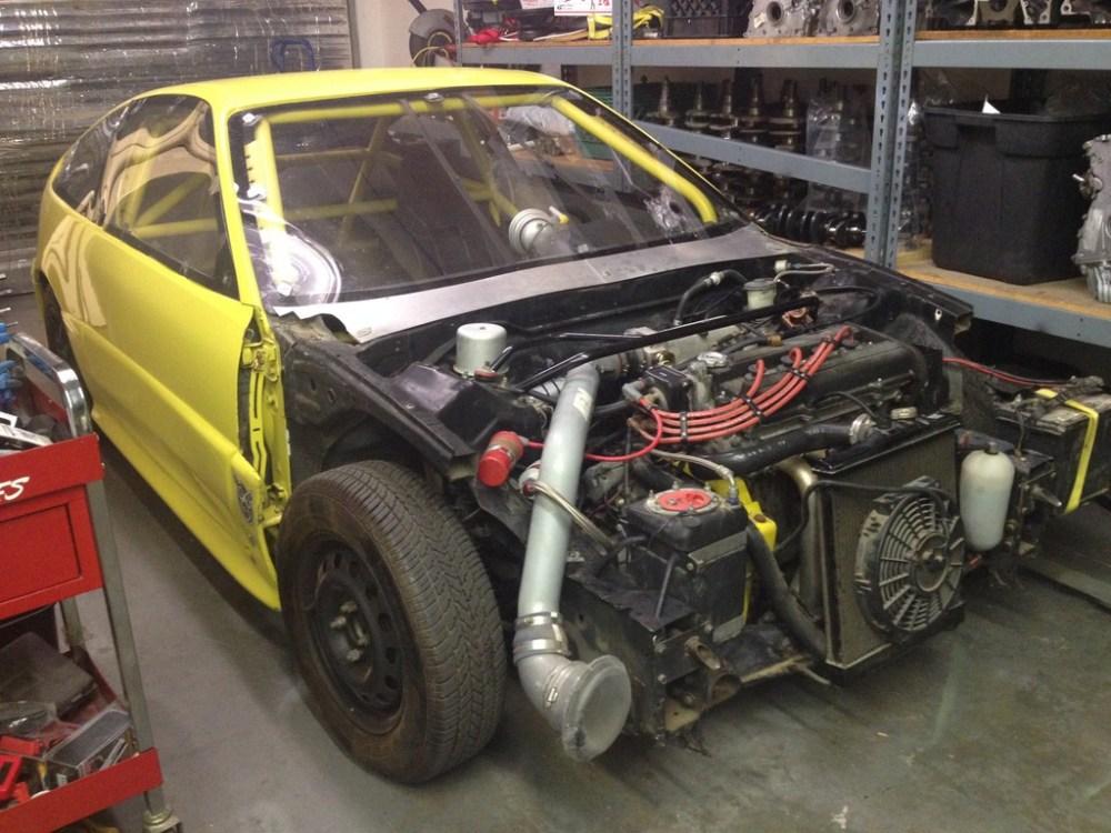 medium resolution of ca 1988 honda crx complete drag car 7000 obo