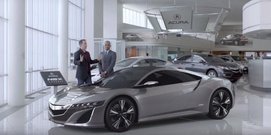 Honda-tech.com Acura NSX Jerry Seinfeld Ad Throwback Thursday 2012