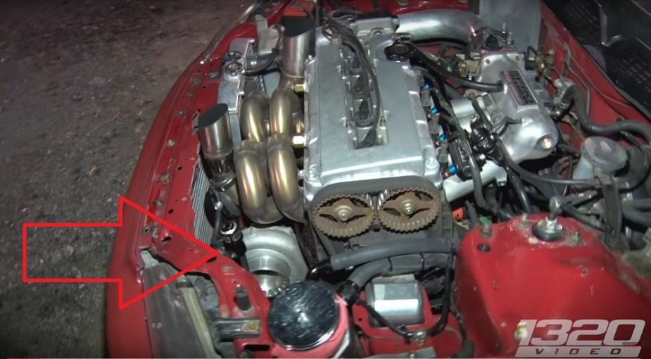 honda-tech.com turbo B18 civic drag