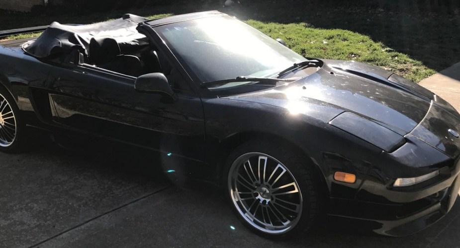 honda-tech.com honda-tech Acura NSX convertible eBay find
