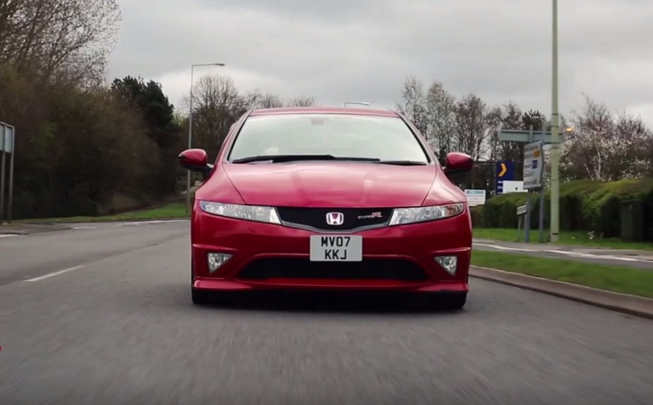 honda-tech.com Civic Type R FN2 FD2 euro K20A review race