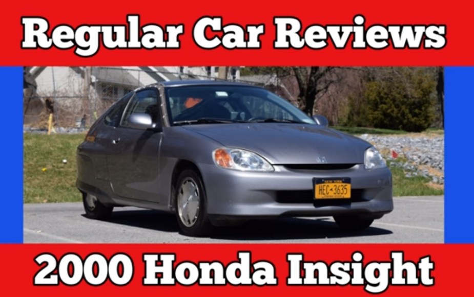 Honda-tech.com Honda Insight Regular Car Reviews Getting Weird