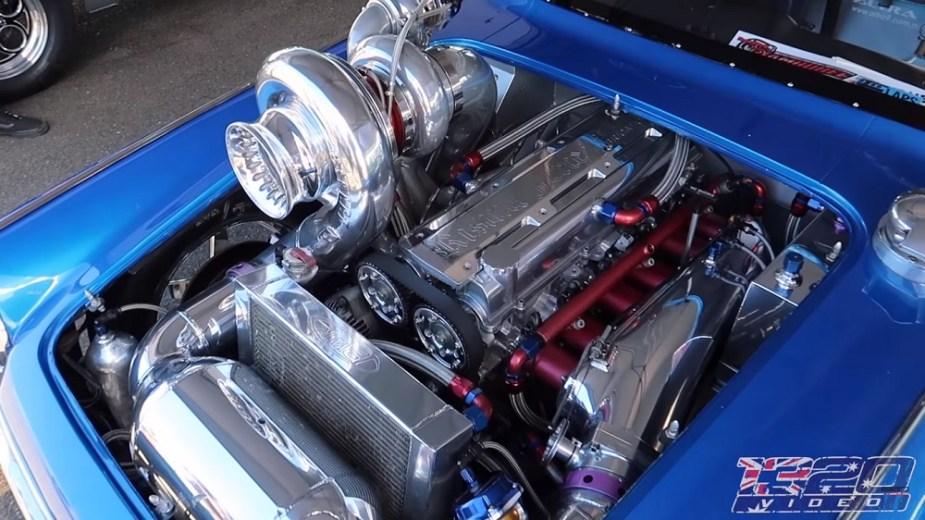 Honda-tech.com Honda S600 88mm turbo 2JZ drag car