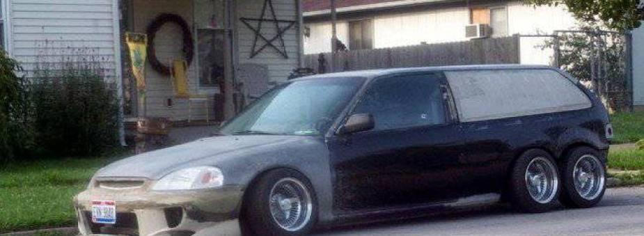 Honda-tech.com Honda civic limo craigslist find