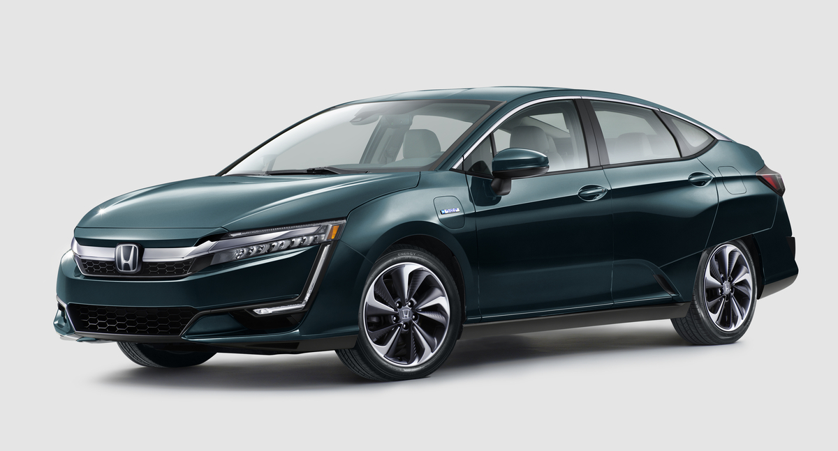 Honda-tech.com 2018 Honda Clarity Electric Plug-In Hybrid Electric Fuel Cell Lease Deal 2017 2018
