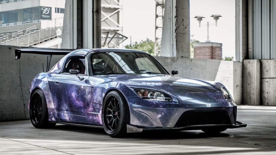 Honda-tech.com Honda S2000 S2K Galaxy Runner custom wrap volk CE28 widebody