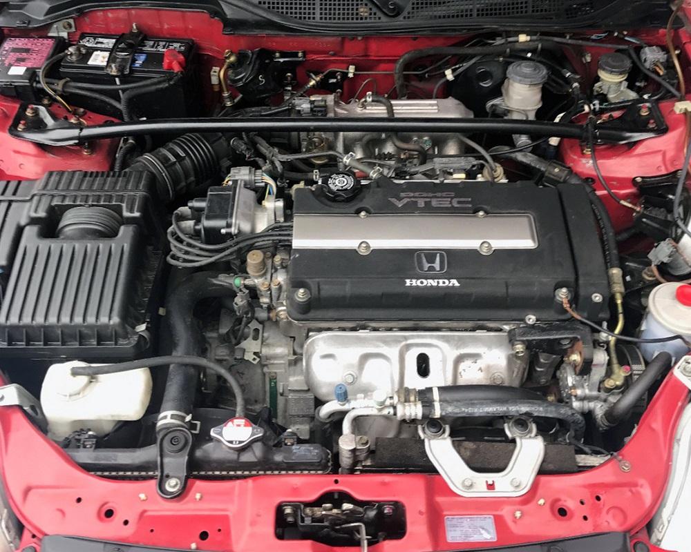 Honda-tech.com Milano Red EM1 Civic Si BringATrailer MAdness
