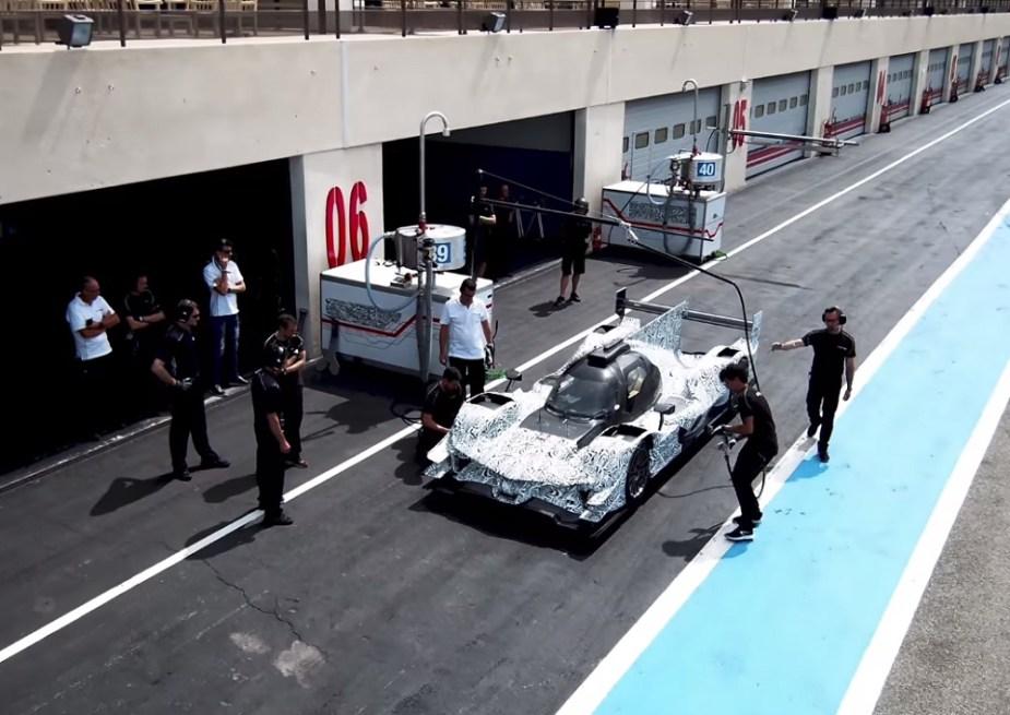 Acura ARX-05 Prototype Race Car IMSA