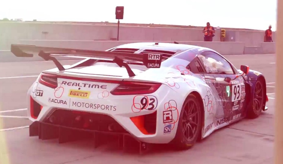 RealTime Racing Acura NSX GT3