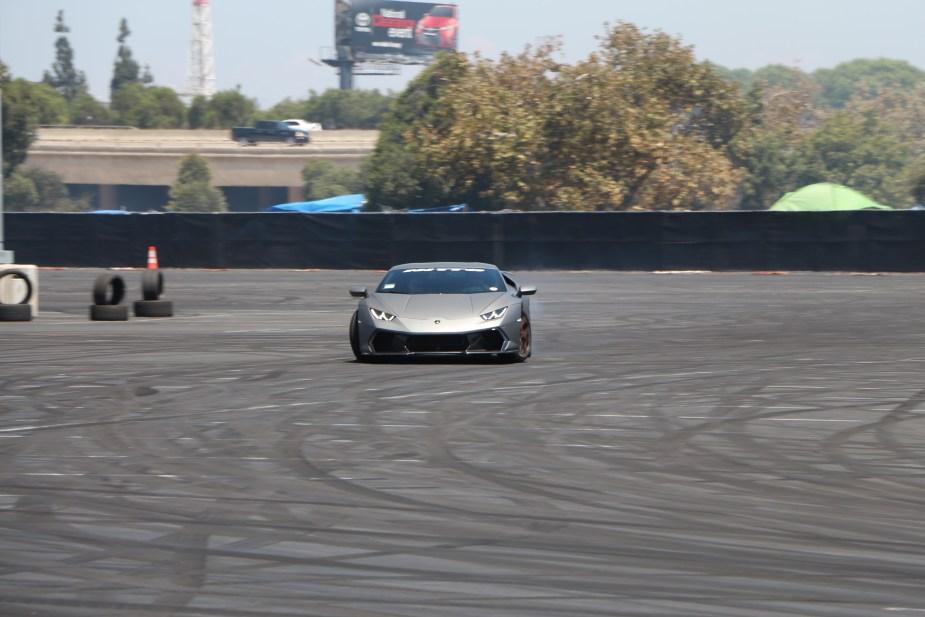Honda-tech.com 2017 Nitto Auto Enthusiast Day California Lamborghini Huracan Drifting Samuel Hubinette