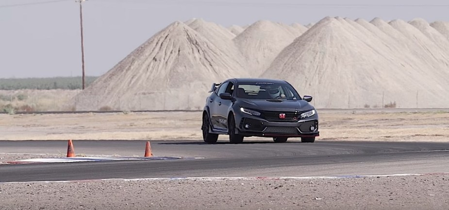 Honda-tech.com Buttonwillow Track Test Honda Civic Type R Evasive Motorsports Overheating