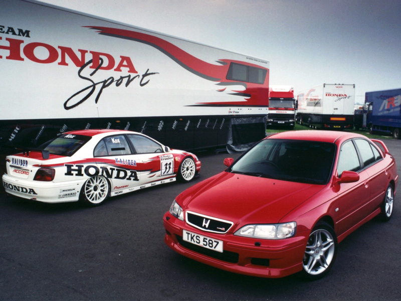 Honda Accord Euro R and British Touring Car Championship Accord