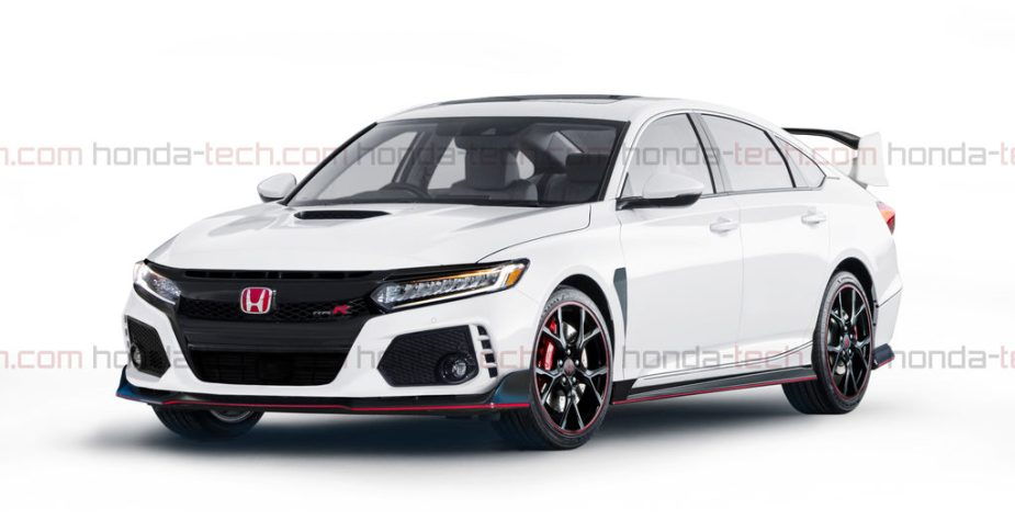 2018 Honda Accord Type R Rendering