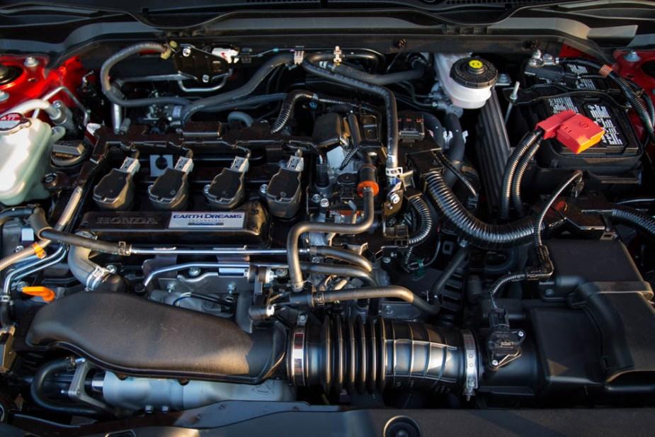 Honda-tech.com 2017 Honda Civic Si review engine
