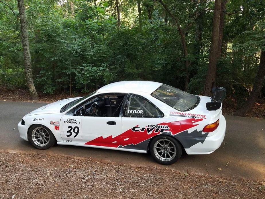 Mike Taylor Honda Civic BTCC