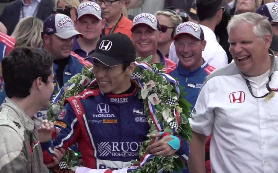 2017 IndyCar Takuma Sato Indianapolis 500 Win