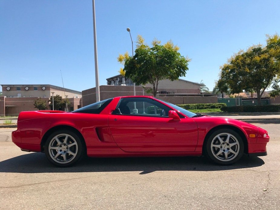Honda-tech.com Honda Acura NSX NA1 Bring A Trailer Auction Formula Red
