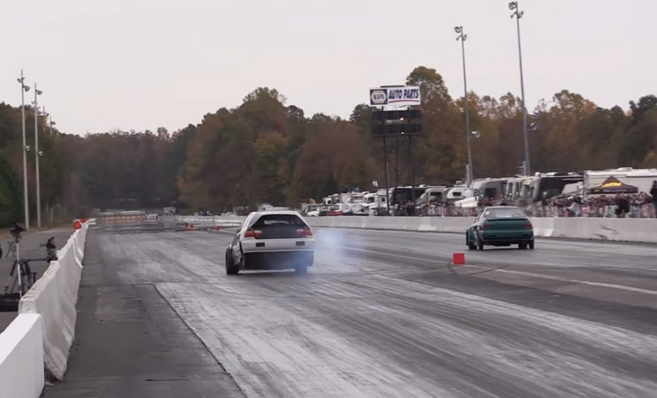 Honda Civic Drag Racing Money Shifts
