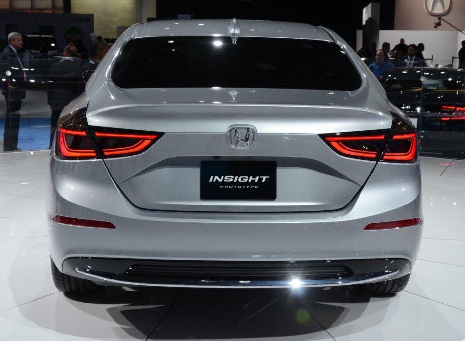 Honda Insight Prototype Rear Square