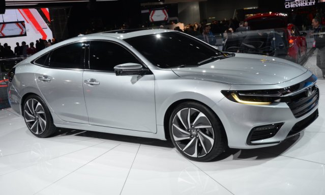 Honda Insight Prototype PS Front