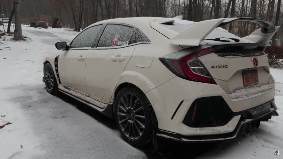 Honda Civic Type R Winter