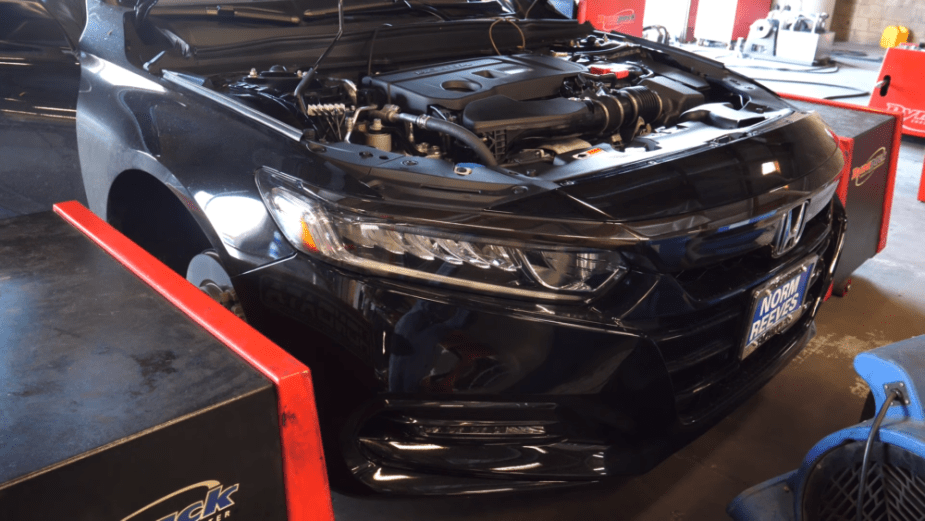 Honda-tech.com Hondata Tune Reflash Honda Accord 2018 2.0 Turbo Engine