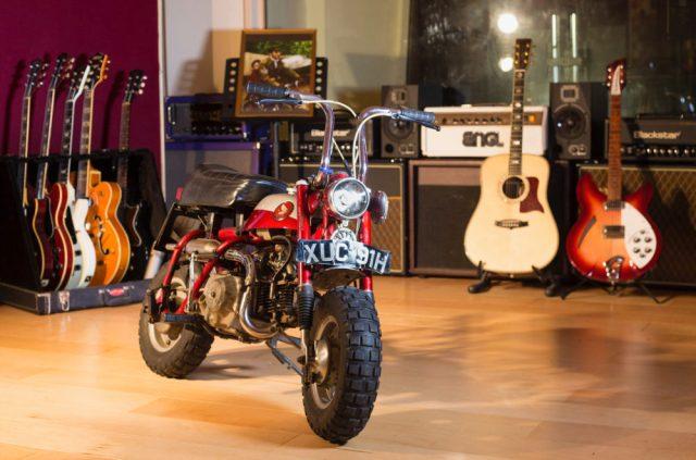 Honda-tech.com Honda Z50 Motorbike motorcycle John Lennon auction