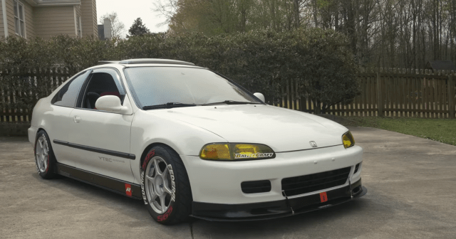 1994 Civic EX (EJ1) with a K20 swap