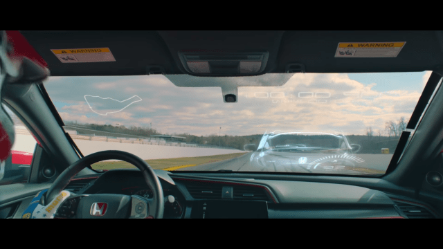 Honda Civic Type R Virtual Race
