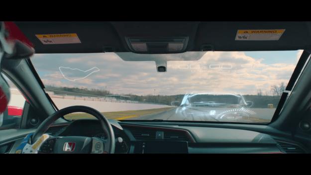 Honda Civic Type R Virtual Race