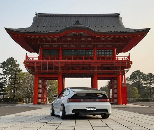 Second Generation Honda CRX SiR