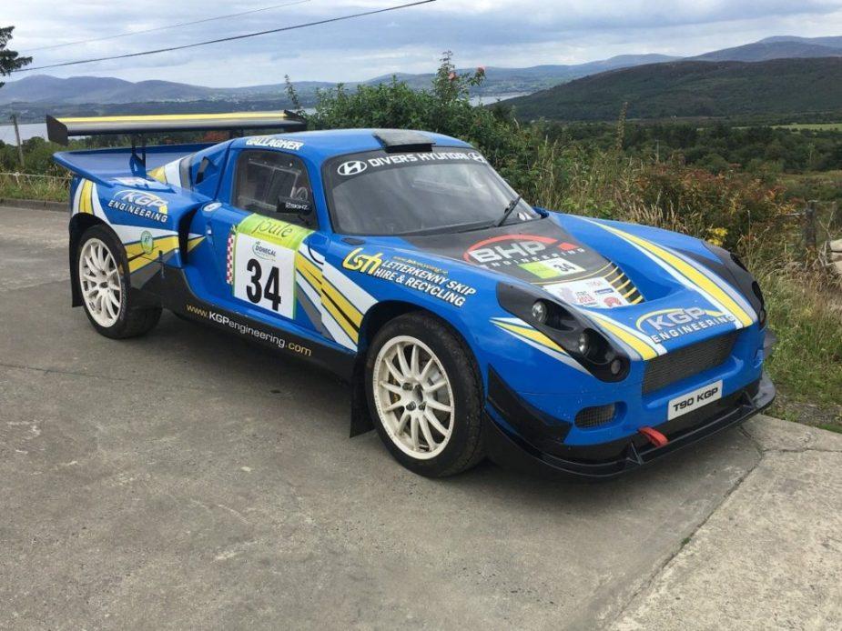 K powered tarmac rally car