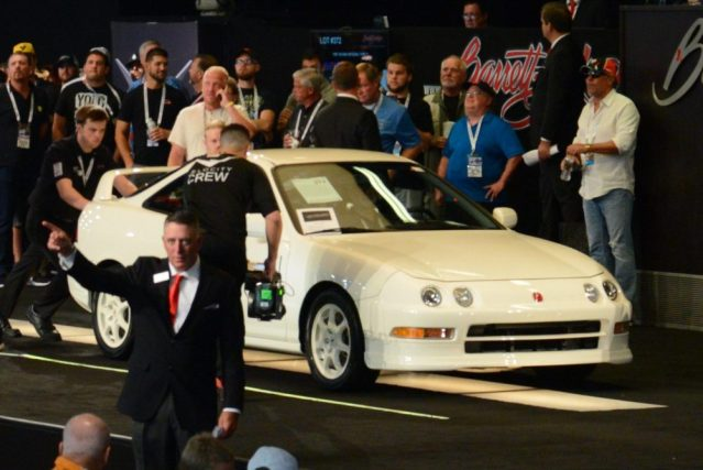 record auction DC2 integra type r