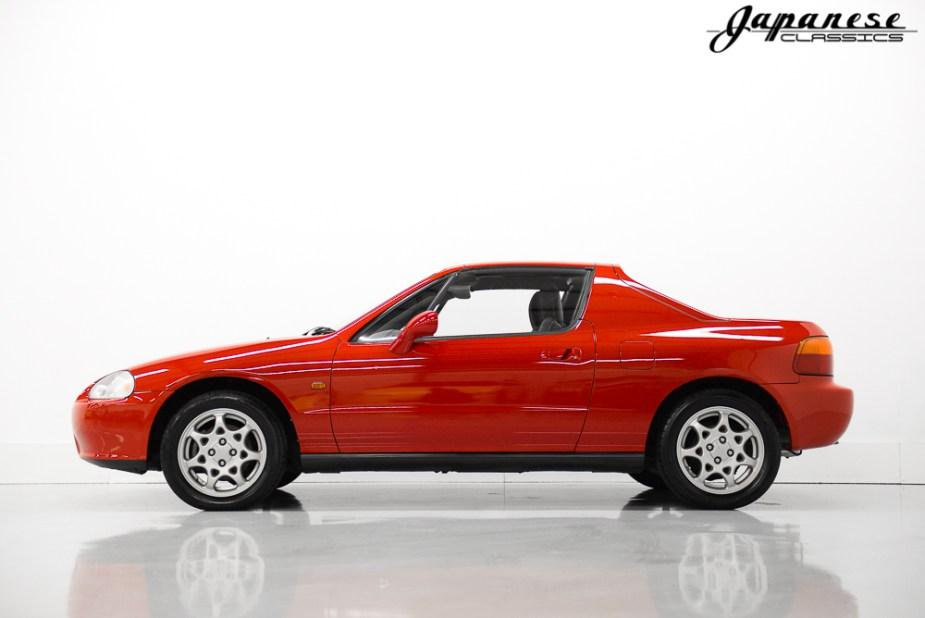 992 Honda Del Sol SiR Trans Top Profile
