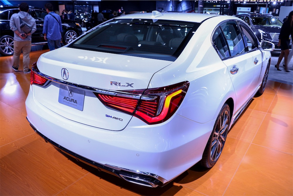 Acura LDX in white.