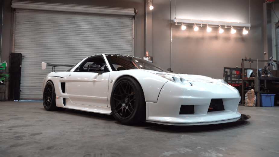 Rhett Panter's 1992 Acura NSX twin turbo track car