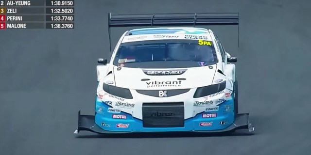 Will Au-Yeung 2012 Honda Civic Si FG4 World Time Attack Challenge
