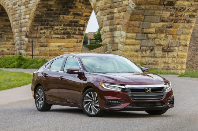 2019 Honda Insight Wins Kelley Blue Book Best Resale Value Award KBB