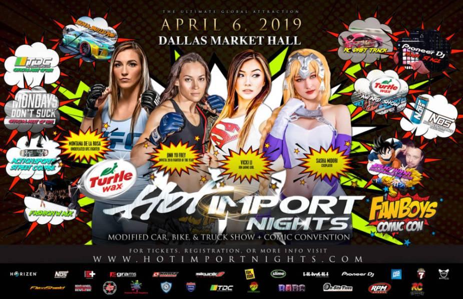 Hot Import Nights Dallas Texas 2019