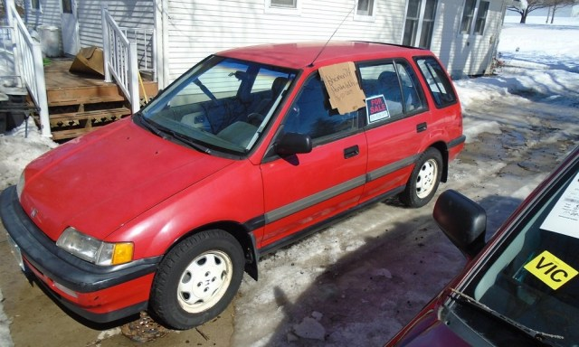 1991 Honda Civic RT4WD 6 Speed Manual Wagon for Sale