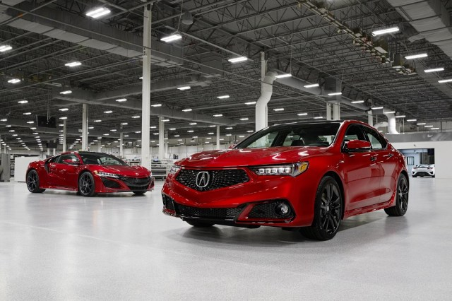 2020 Acura TLX PMC Edition Performance Manufacturing Center NSX