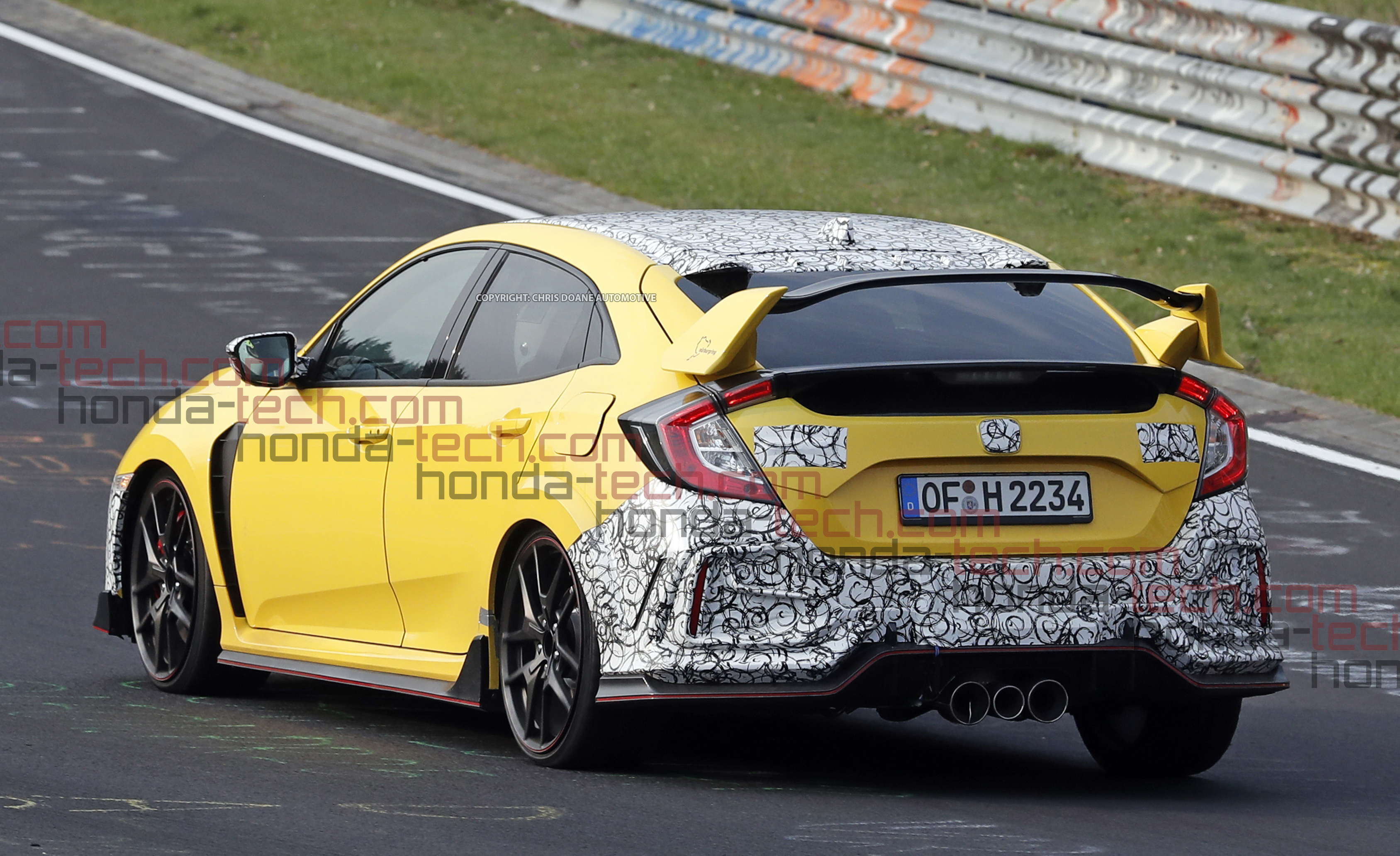 2020 Honda Civic Type R Refresh News Spy Shots Exclusive
