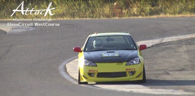 DC5 Integra Type R RSX Time Attack Ebisu Circuit