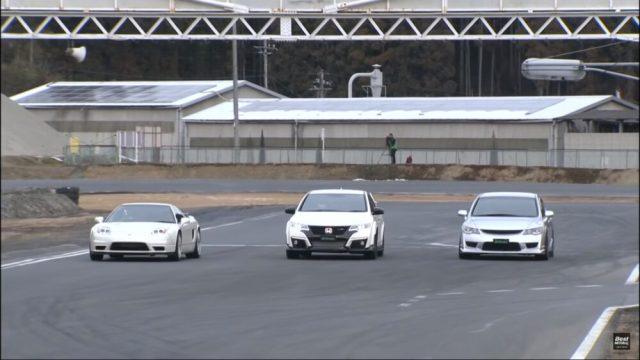 Honda Civic Type R Track Battle Best Motoring