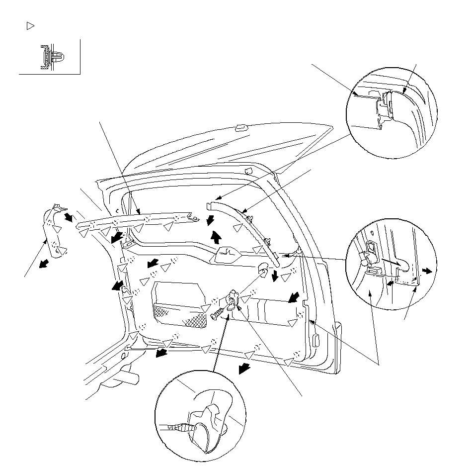 Service manual [2011 Honda Cr Z Liftgate Panel Removal