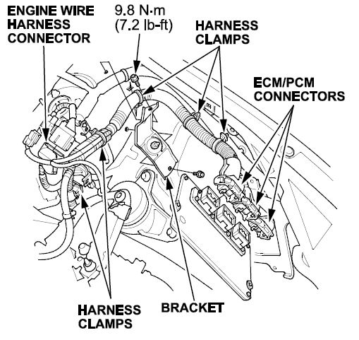 2010 Acura Mdx Secondary Underhood Fuse Box Diagram
