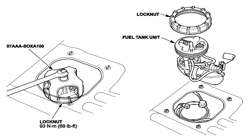 JE0 – Safety Recall: Odyssey Fuel Pump
