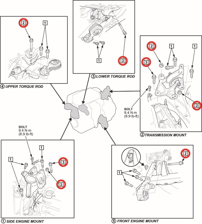 medium resolution of transmission mount